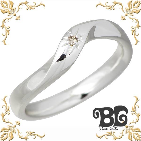 ブルーキャット Blue Cat シェア デザイン ブラウンダイヤモンド シルバー リング メンズ リング ダイアモンド 指輪 アクセサリー 15~21号 シルバー925 スターリングシルバー SWG674-1090
