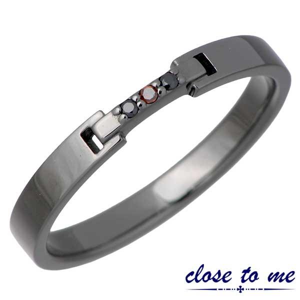 close to me【クロストゥーミー】 シルバー リング レッドダイヤモンド 指輪 アクセサリー 15~21号 シルバー925 スターリングシルバー SR14-019BK