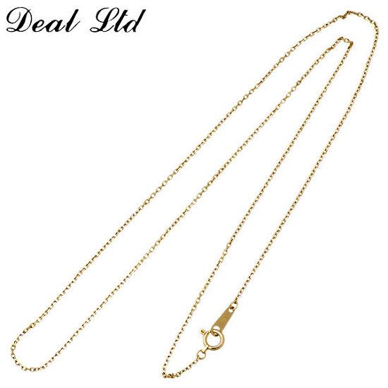 DEAL LTD【ディール エルティーディー】 K10 ゴールド 45cm チェーン DEAL DESIGN【ディールデザイン】 K10