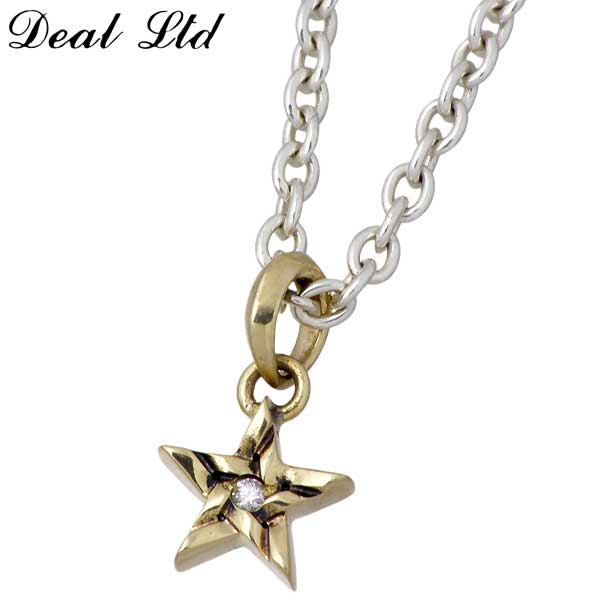 DEAL LTD【ディールエルティーディー】 STEP STAR LTD K10 ネックレス アクセサリー ダイヤモンド スター シルバー925DEAL DESIGN【ディールデザイン】 310159K10-CL60