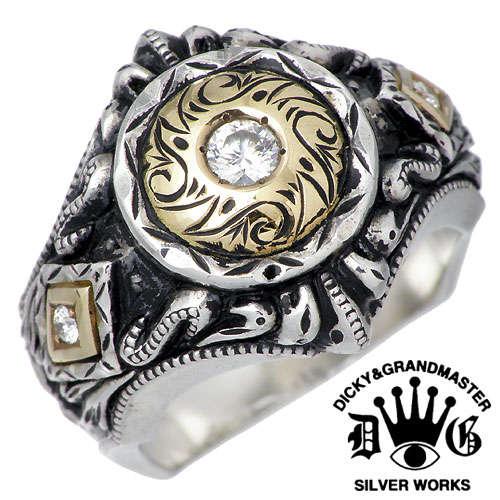 DICKY & GRANDMASTER【ディッキー & グランドマスター】 パンドゥーラ シルバー リング ダイヤモンド 指輪 アクセサリー シルバー925 スターリングシルバー DR-09-D