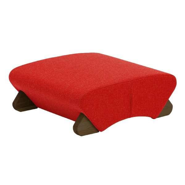デザイン 座椅子 脚 ダーク 布 レッド Mona.Dee モナディー WAS F 新生活 引越し 家具 メーカー直送品 ds-1486282