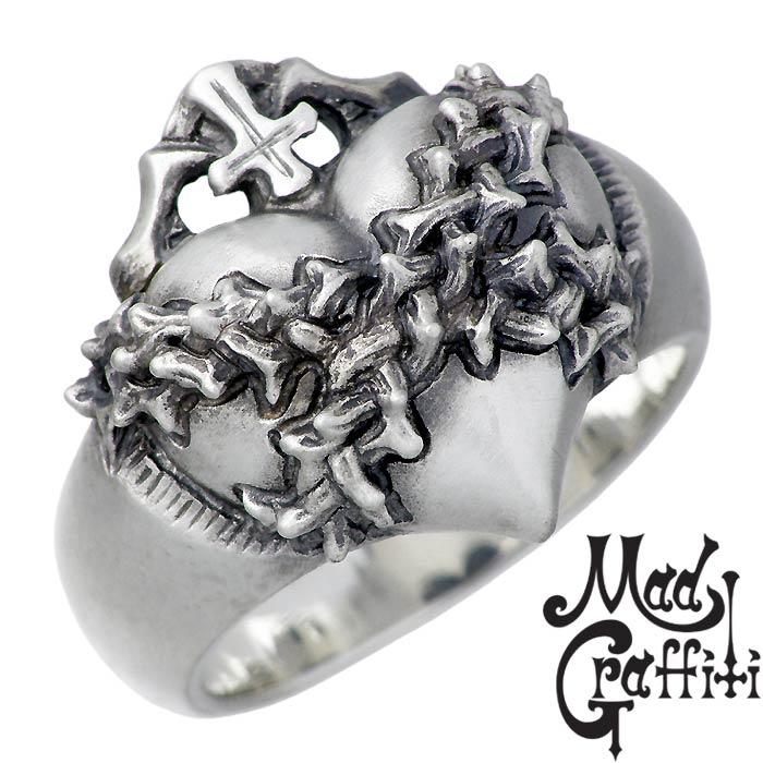マッドグラフィティ Mad Graffiti シルバー リング 指輪 アクセサリー モノポリー M 7号~30号 MG-R-0004