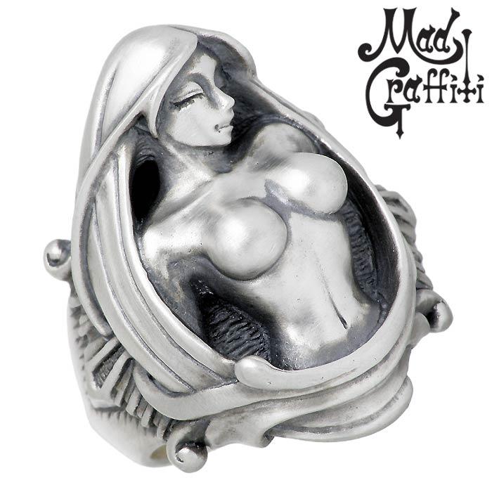 Mad Graffiti【マッドグラフィティ】 シルバー リング 指輪 アクセサリー プリヴィリッジ M 13号~30号 MG-R-0011