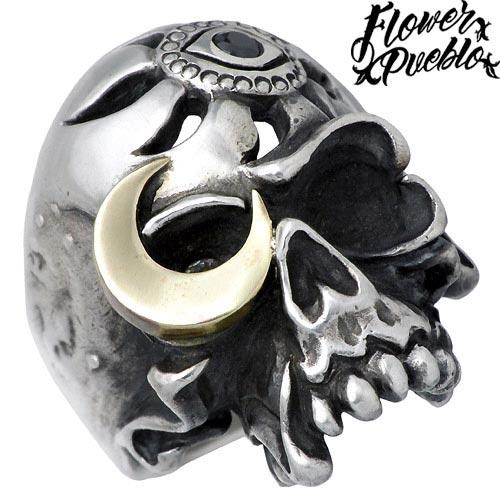 Flower Pueblo【フラワープエブロ】 愚か者の世界 シルバー リング 指輪 アクセサリー シルバー925 スターリングシルバー fp-41