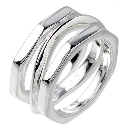 FREE STYLE【フリースタイル】 デザイン シルバー リング 指輪 アクセサリー シルバー925 スターリングシルバー FSR-011