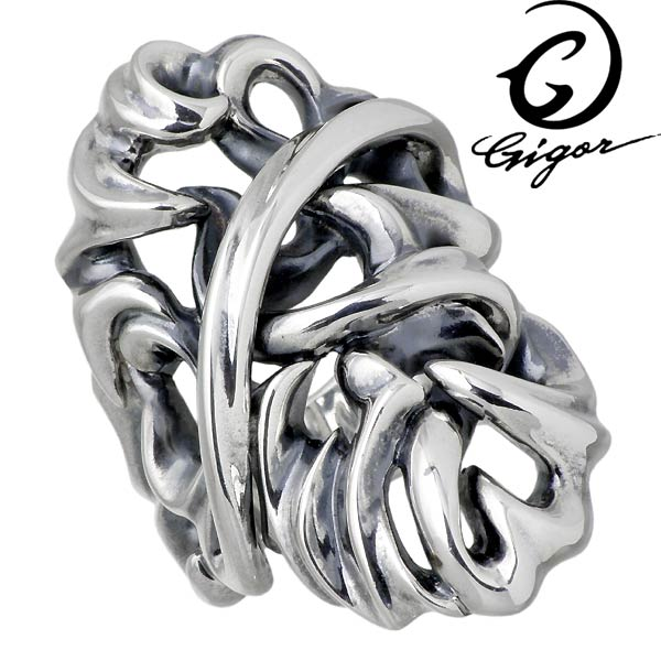 GIGOR【ジゴロウ】 アムテイル シルバー リング 指輪 アクセサリー メンズ 7~25号 NO-339