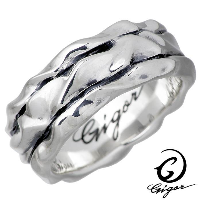GIGOR【ジゴロウ】 ラリット シルバー リング 指輪 アクセサリー メンズ レディース 7~25号 NO-362