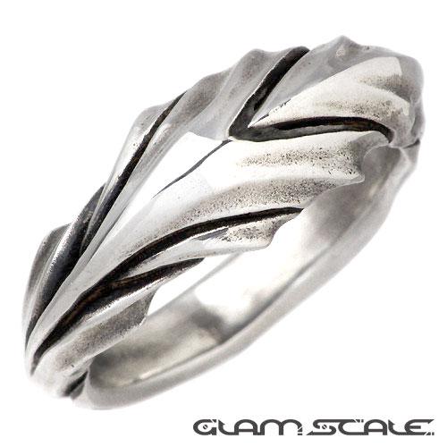 GLAM SCALE【グラムスケイル】 シルバー リング L 指輪 シルバーアクセサリー シルバー925 GS-ER-002