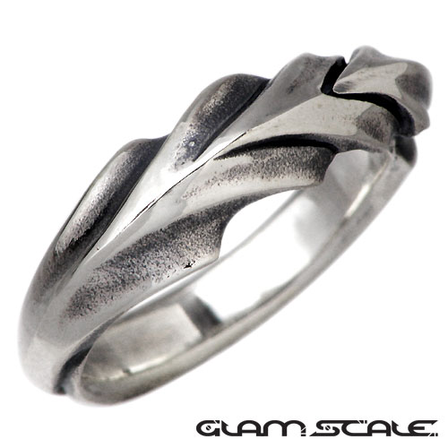 GLAM SCALE【グラムスケイル】 シルバー リング S 指輪 アクセサリー シルバー925 スターリングシルバー GS-ER-004