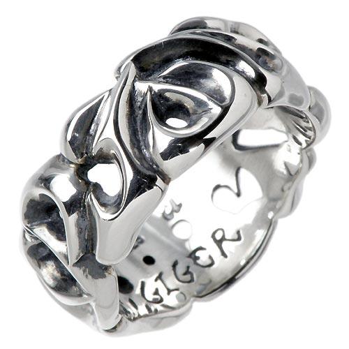 GIGOR【ジゴロウ】 トライバル シルバー リング 指輪 シルバーアクセサリー シルバー925 NO-039