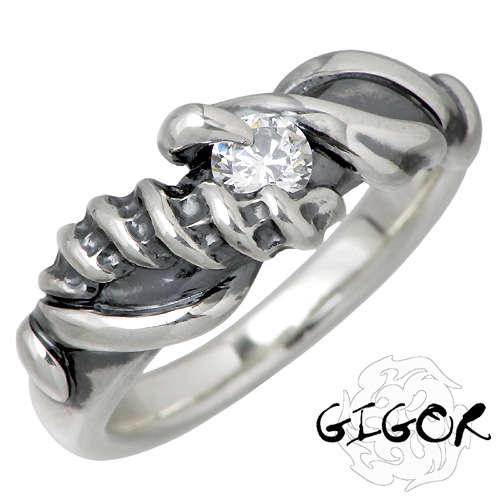 ジゴロウ GIGOR レディム シルバー リング 5~25号 ストーン 指輪 アクセサリー シルバー925 スターリングシルバー NO-231