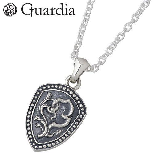 Guardia【ガルディア】 Guardia Shield 盾 シルバー ネックレス アクセサリー チェーン付き シルバー925 スターリングシルバー ATPN-008CL50
