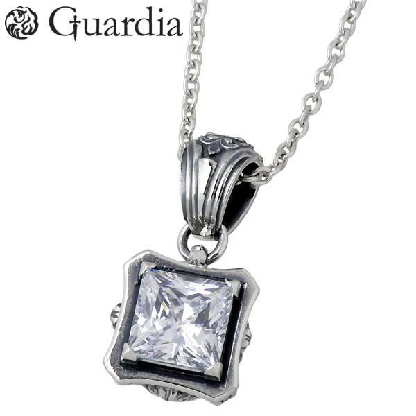 Guardia【ガルディア】 Aster シルバー ネックレス キュービック シルバーアクセサリー シルバー925 ATPN-029CL60