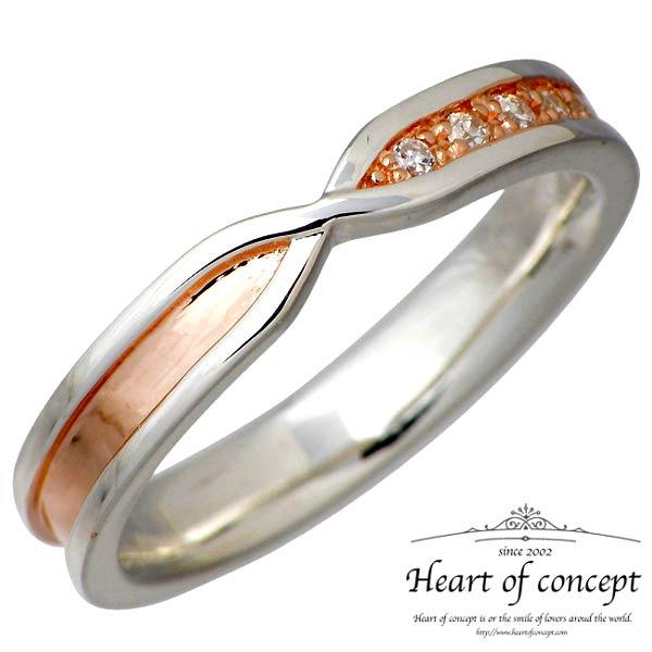 HEART OF CONCEPT【ハートオブコンセプト】 ストーン デザイン シルバー リング キュービック ピンク 指輪 アクセサリー 5~15号 シルバー925 スターリングシルバー HCR-245PK