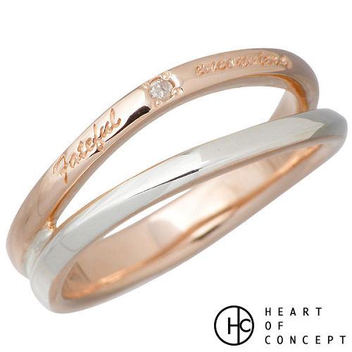 HEART OF CONCEPT【ハートオブコンセプト】 ダイヤモンド デザイン シルバー リング ピンク 指輪 アクセサリー 5~15号 シルバー925 スターリングシルバー HCR-246PK