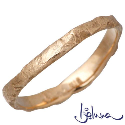 Ijeluna【アイジェルナ】 K18 ピンクゴールドリング メンズ 指輪 アクセサリー 11~19号 HJ-009RGP