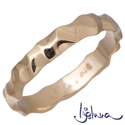 Ijeluna【アイジェルナ】 K18 ピンクゴールドリング レディース 指輪 アクセサリー 7~13号 HJ-012RGP