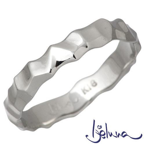 Ijeluna【アイジェルナ】 K18ホワイトゴールドリング レディース 指輪 アクセサリー 7~13号 HJ-012RGW