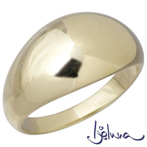 Ijeluna【アイジェルナ】 K10 イエローゴールド月甲リング 指輪 アクセサリー 7~13号 IJ-027RGY