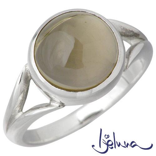 Ijeluna【アイジェルナ】 シルバーリング 10mmスモーキークォーツリング 指輪 アクセサリー 7~13号 シルバー925 スターリングシルバー IJ-028RS-SMOKY