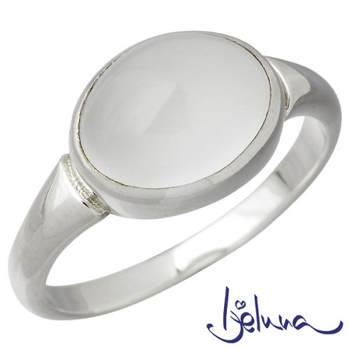 Ijeluna【アイジェルナ】 シルバーリング 8x10mmムーンストーンリング 指輪 7~13号 シルバーアクセサリー シルバー925 IJ-029RS-MS