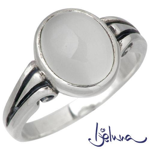 Ijeluna【アイジェルナ】 ヴァイオラ 8x10mmムーンストーンシルバーリング 指輪 アクセサリー 7~17号 シルバー925 スターリングシルバー IJ-043RS-MS