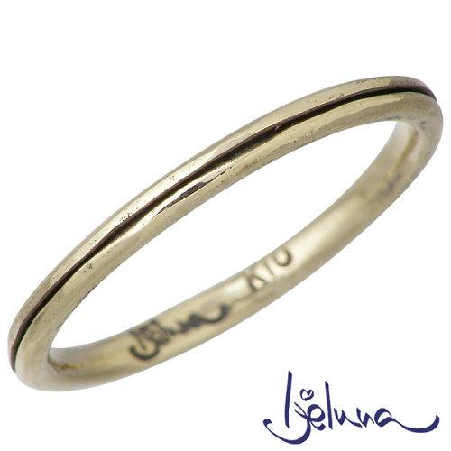 送料無料 Ijeluna アイジェルナ K10 イエローゴールドリング 直営限定アウトレット アクセサリー 指輪 IJ-046RGY セール品 7~13号