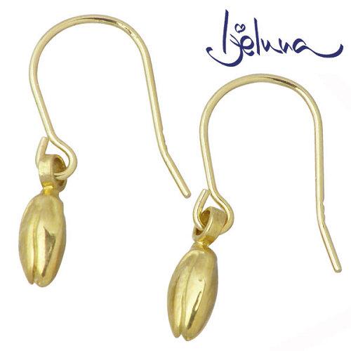 アイジェルナ Ijeluna K18 イエローゴールド 草木の蕾ピアス アクセサリー 2個売り 両耳用 IJ-051PY