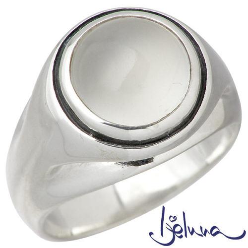 Ijeluna【アイジェルナ】 フローティングリング 10mmムーンストーンシルバーリング 指輪 アクセサリー 7~17号 シルバー925 スターリングシルバー IJ-066RS-MS