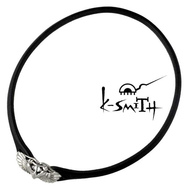 K-SMITH【ケースミス】 ウィング シルバー チョーカー WING レザー シルバー925 スターリングシルバー KI-608