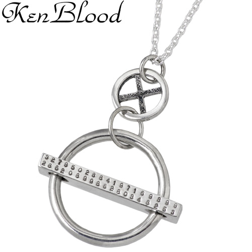 KEN BLOOD【ケンブラッド】 サイクル シルバー ネックレス アクセサリー シルバー925 スターリングシルバー KB-KHP-13