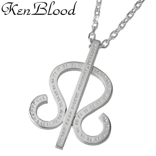 KEN BLOOD【ケンブラッド】 シルバー ネックレス シルバーアクセサリー シルバー925 KB-KHP-17