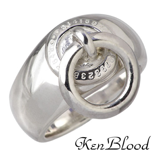 ケンブラッド KEN BLOOD シルバー リング 指輪 アクセサリー シルバー925 スターリングシルバー KB-KR-155SV