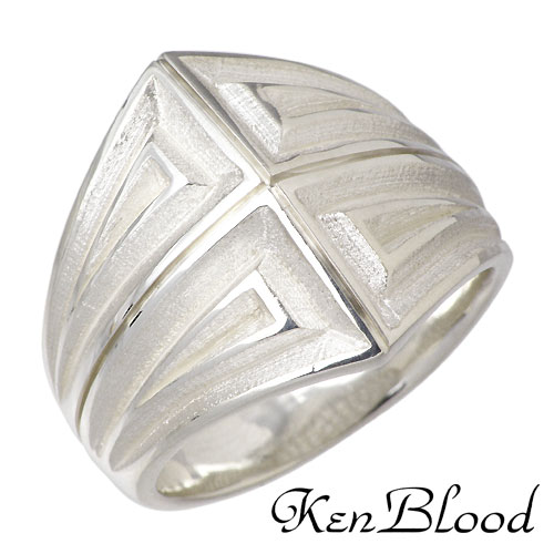 KEN BLOOD【ケンブラッド】 シルバー リング 指輪 アクセサリー シルバー925 スターリングシルバー KB-NI-57
