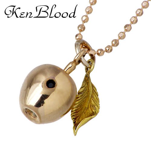 KEN BLOOD【ケンブラッド】 アップル シルバー ネックレス アクセサリー りんご 林檎 シルバー925 スターリングシルバー KB-SP-05