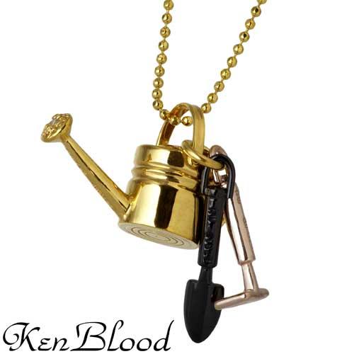 KEN BLOOD【ケンブラッド】 ガーデニングセット シルバー ネックレス CZ シルバーアクセサリー シルバー925 KB-SP-15