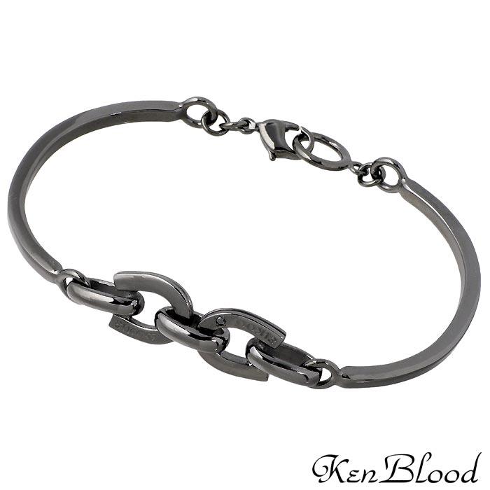 ケンブラッド KEN BLOOD シルバー ブレスレット アクセサリー メンズ ダイヤモンド ホースシュー 馬蹄 KP-279M