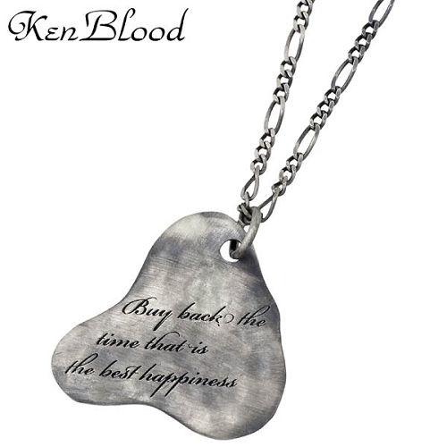 KEN BLOOD【ケンブラッド】 ネイチャー シルバー ネックレスA シルバーアクセサリー シルバー925 KP-335AtSV