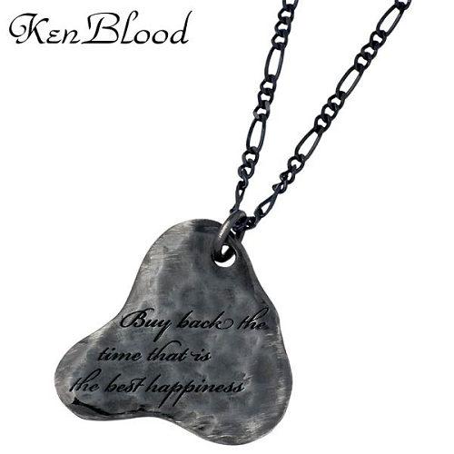 KEN BLOOD【ケンブラッド】 ネイチャー シルバー ネックレスA ブラック シルバー925 スターリングシルバー KP-335BK