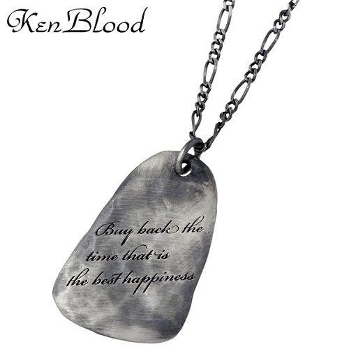 ケンブラッド KEN BLOOD ネイチャー シルバー ネックレスB シルバー925 スターリングシルバー KP-336AtSV