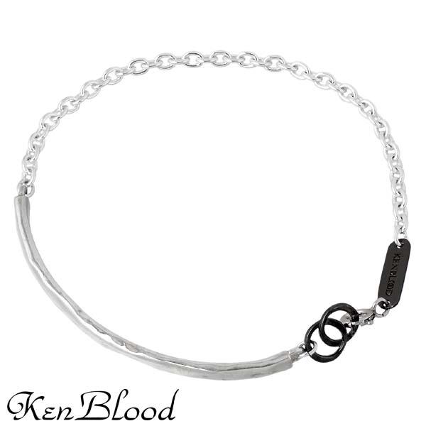KEN BLOOD【ケンブラッド】 シルバー ブレスレット アクセサリー シルバー925 スターリングシルバー KP-387SV