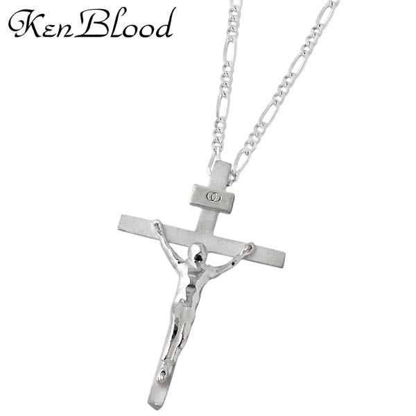 ケンブラッド KEN BLOOD クロス シルバー ネックレス アクセサリー 十字架 シルバー925 スターリングシルバー KP-403SV