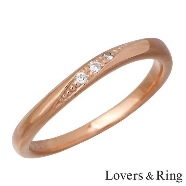 Lovers & Ring【ラバーズリング】 ダイヤモンド シルバー リング ピンク 指輪 7~21号 シルバーアクセサリー シルバー925 LSR-0120DPK