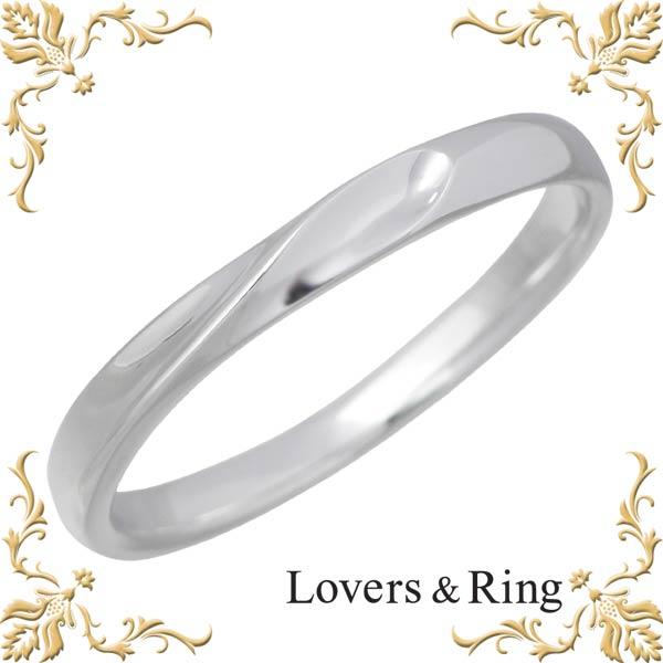 Lovers & Ring【ラバーズリング】 刻印可能 K10ホワイトゴールドリング 指輪 5~23号 LSR-0650MWG