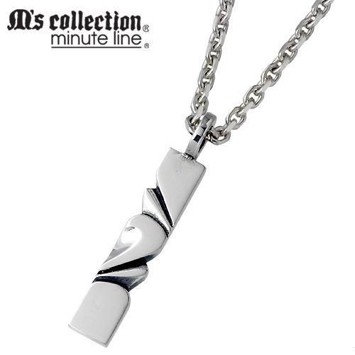 M's collection【エムズコレクション】 シルバー ネックレス アクセサリー メンズ シルバー925 スターリングシルバー MC-492