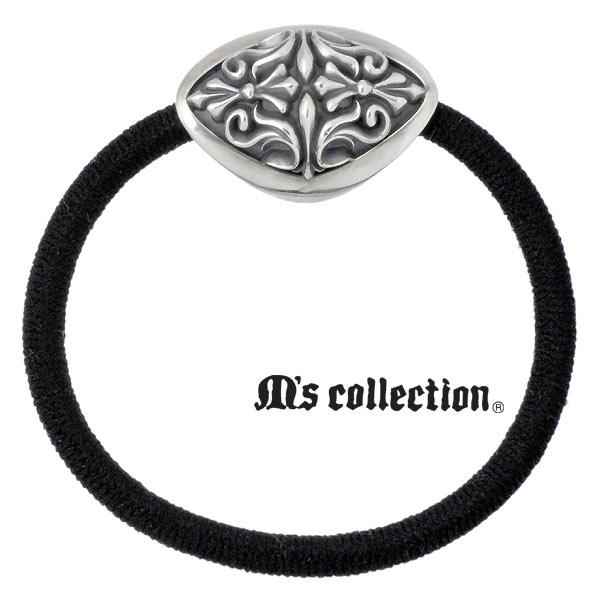M's collection【エムズコレクション】 シルバー ヘアゴム ヘアアクセサリー シルバー925 スターリングシルバー 4S0S0016