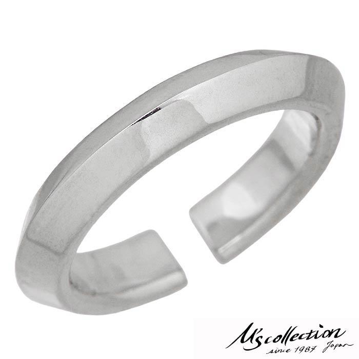 M's collection【エムズ コレクション】ファイントライアングルワイヤー シルバー リング 指輪 メンズ レディース 9~21号 シンプル シルバーアクセサリー アクセ ギフト プレゼント FR-002