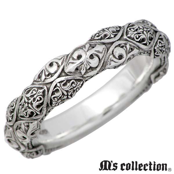 M's collection【エムズコレクション】 シルバー リング メンズ 指輪 13~21号 SV シルバーアクセサリー シルバー925 S0001
