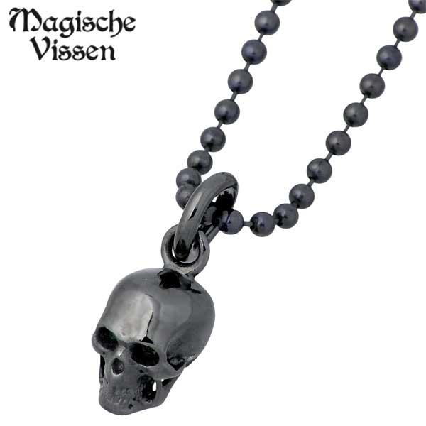 マジェスフィッセン Magische Vissen シルバー ネックレス アクセサリー ルテニウム スカル シルバー925 スターリングシルバー OZP-016